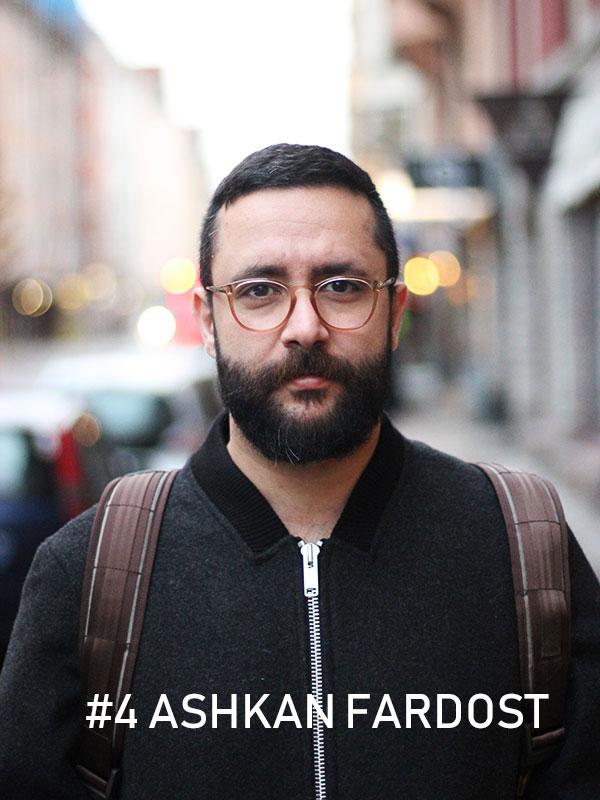 Ashkan Fardost, Foto: Christian von Essen, Heja Framtiden
