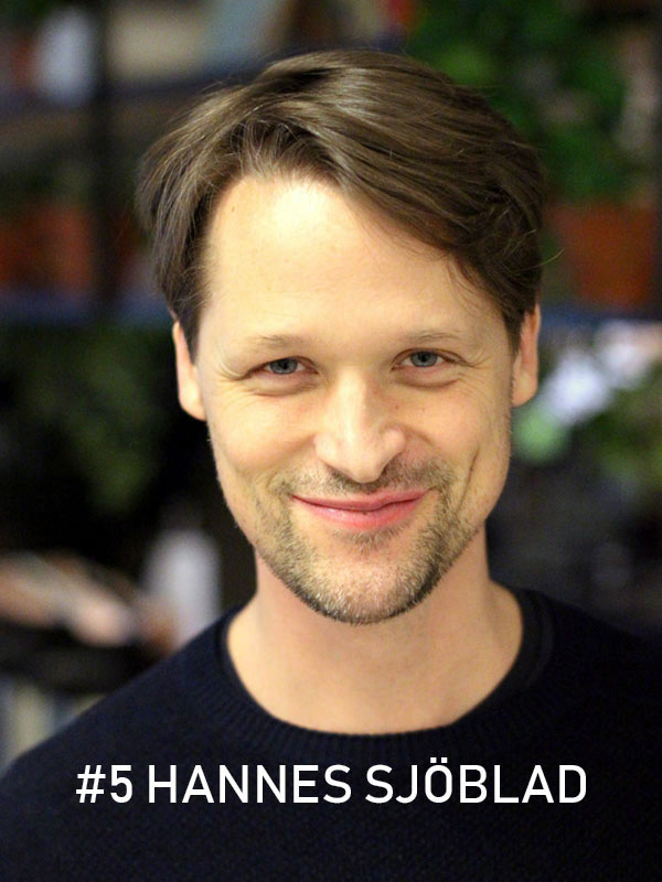 Hannes Sjöblad. Foto: Christian von Essen, Heja Framtiden