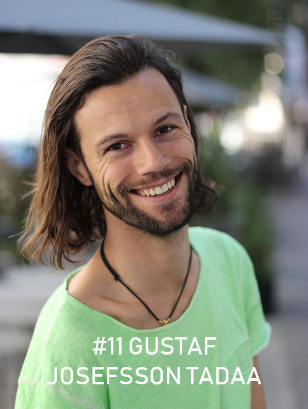 Gustaf Josefsson Tadaa / Foto: Christian von Essen, Heja Framtiden