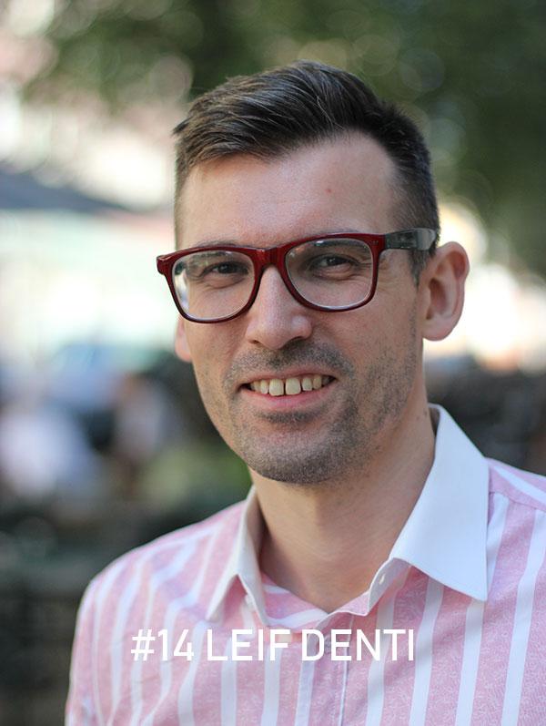 Leif Denti, Foto: Christian von Essen, Heja Framtiden