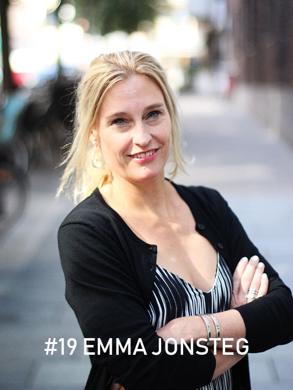 Emma Jonsteg, foto: Christian von Essen, Hejaframtiden.se