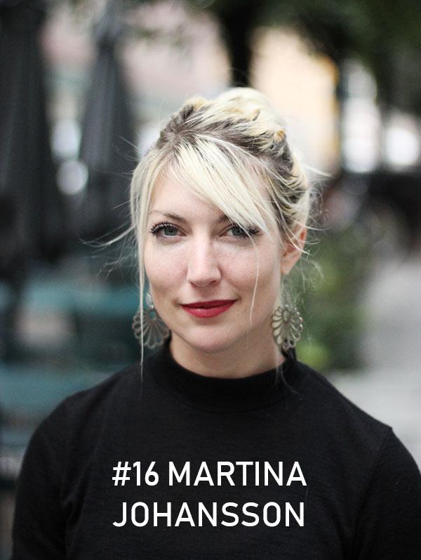 Martina Johansson - Foto: Christian von Essen, Hejaframtiden.se