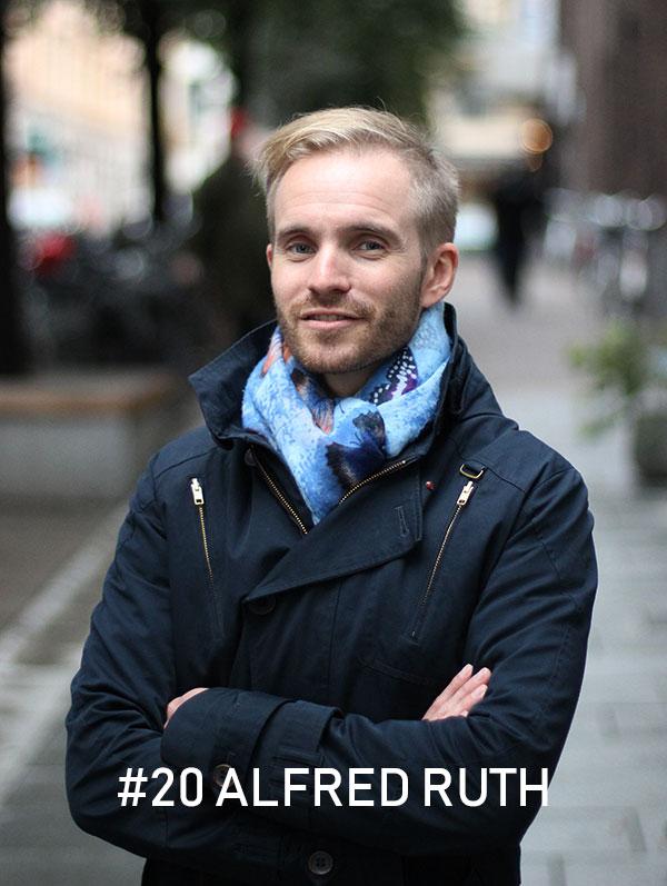 Alfred Ruth, foto: Christian von Essen, Hejaframtiden.se