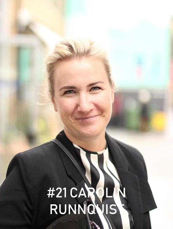 Carolin Runnquist, foto: Christian von Essen, hejaframtiden.se