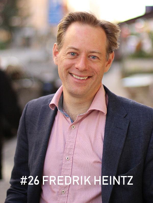 Fredrik Heintz. Foto: Christian von Essen, hejaframtiden.se