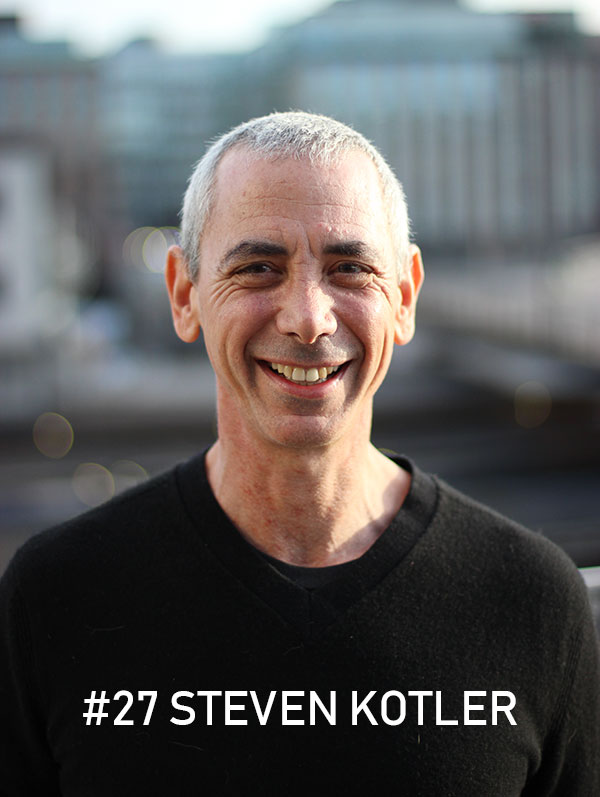 Steven Kotler, photo: Christian von Essen, hejaframtiden.se