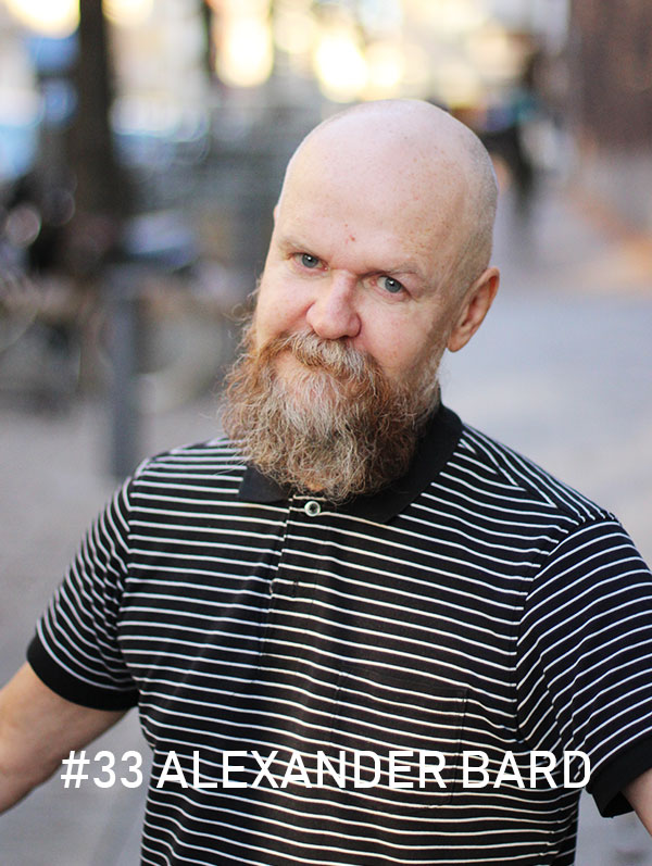 Alexander Bard / Foto: Christian von Essen, hejaframtiden.se