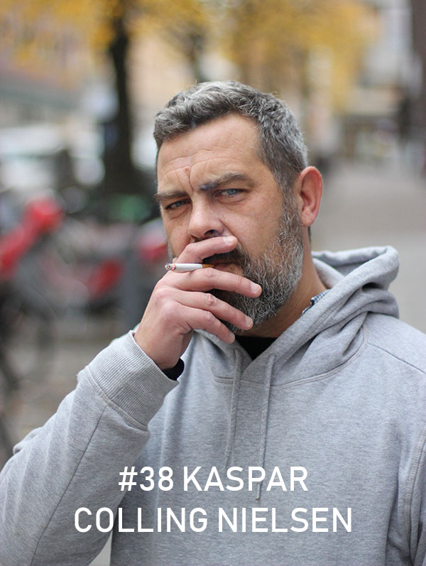 Kaspar Colling Nielsen / Photo: Christian von Essen, hejaframtiden.se