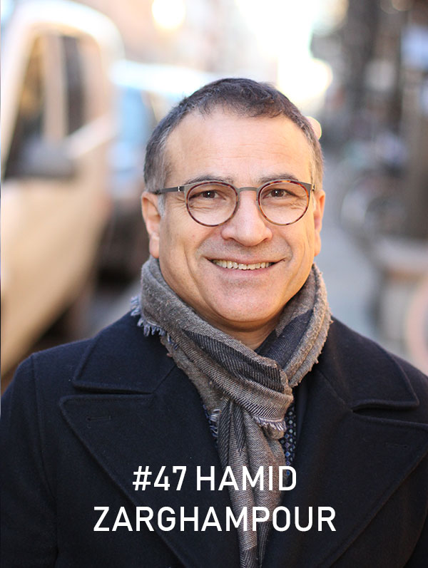 Hamid Zarghampour, Trafikverket / Foto: Christian von Essen, hejaframtiden.se