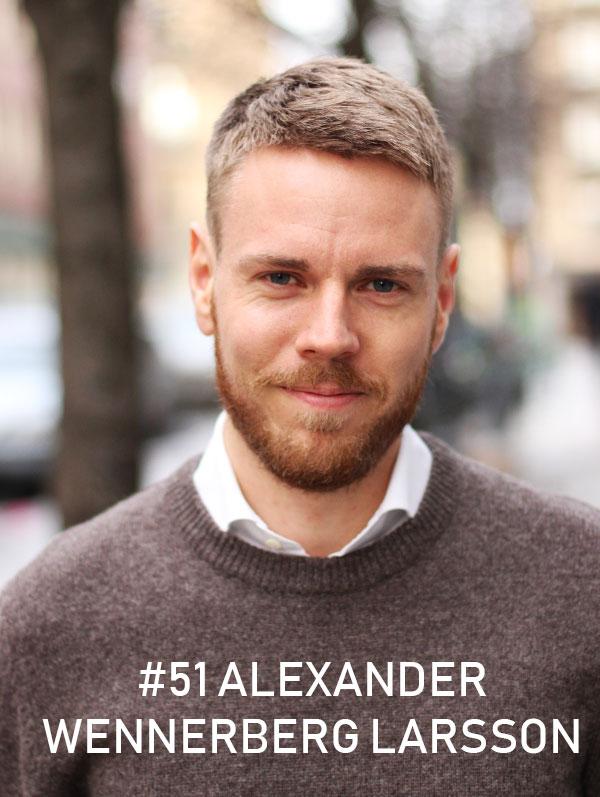 Alexander Wennerberg Larsson, Hives.co / Foto: Christian von Essen, hejaframtiden.se