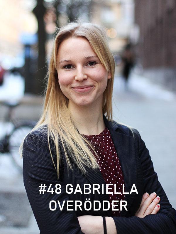 Gabriella Overödder, Effektiv Altruism Sverige. Foto: Christian von Essen, hejaframtiden.se