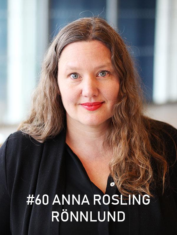 Anna Rosling Rönnlund, Gapminder. Foto: Christian von Essen, hejaframtiden.se