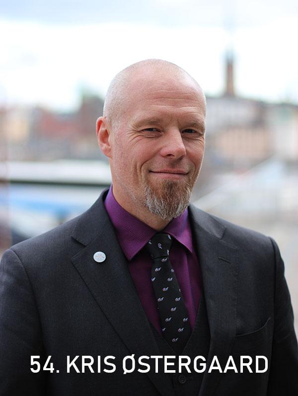 Kris Østergaard, SingularityU Nordic. Photo: Christian von Essen, hejaframtiden.se