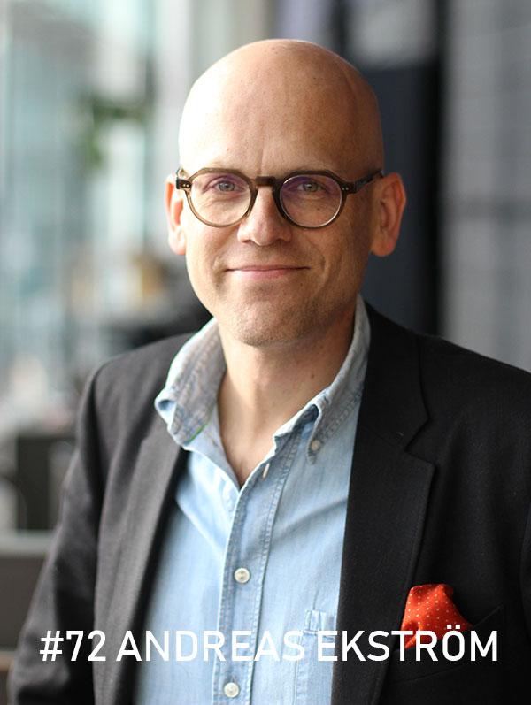 Andreas Ekström / Foto: Christian von Essen, hejaframtiden.se