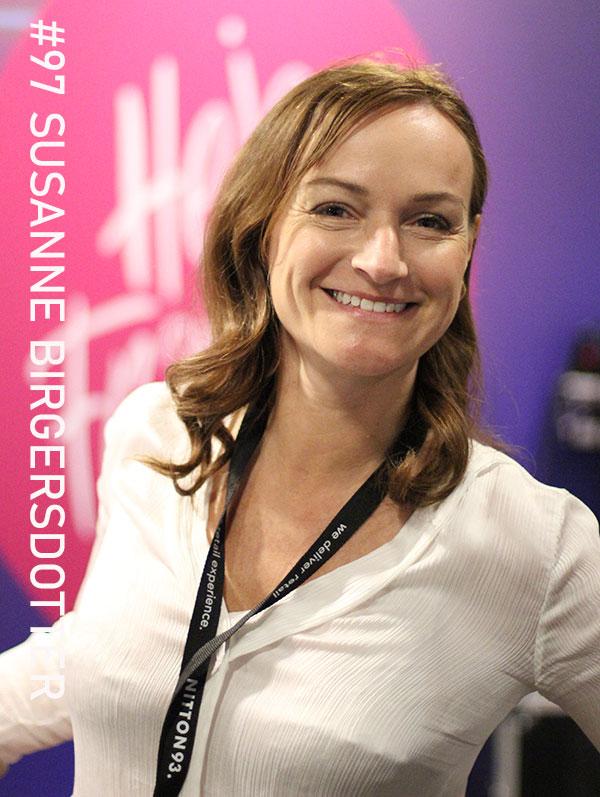 Susanne Birgersdotter. Foto: Christian von Essen, hejaframtiden.se