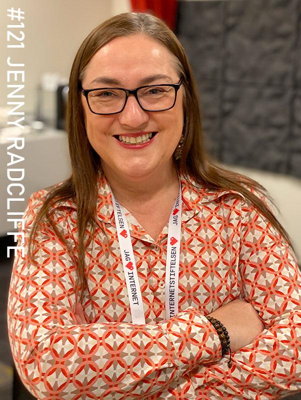 Jenny Radcliffe. Photo: Christian von Essen, hejaframtiden.se