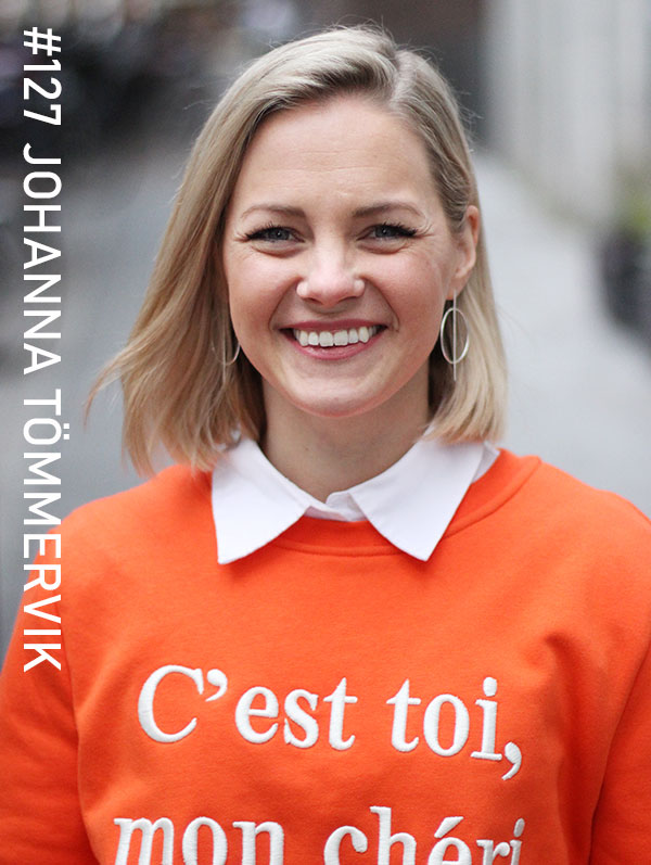 Johanna Tömmervik. Foto: Christian von Essen, hejaframtiden.se