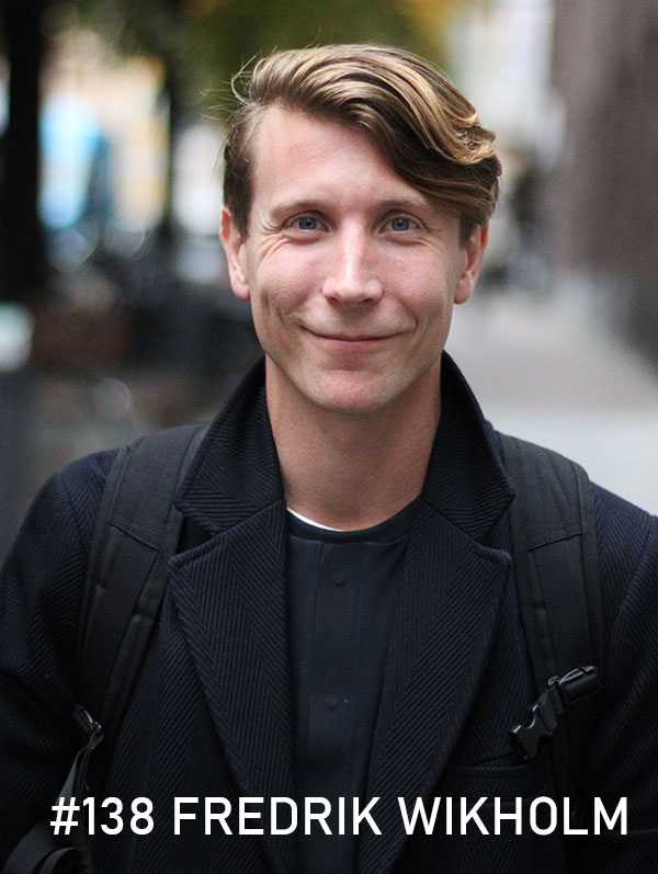 Fredrik Wikholm. Foto: Christian von Essen, hejaframtiden.se