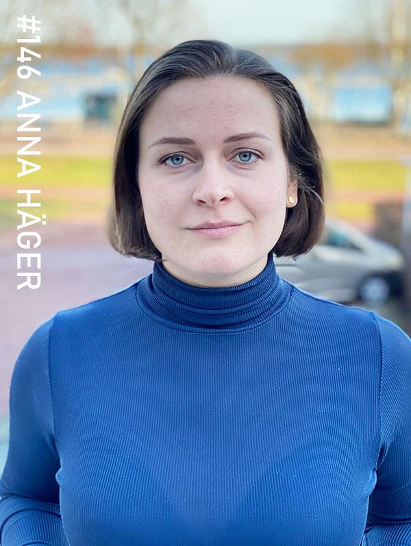 Anna Häger. Foto: Christian von Essen, hejaframtiden.se