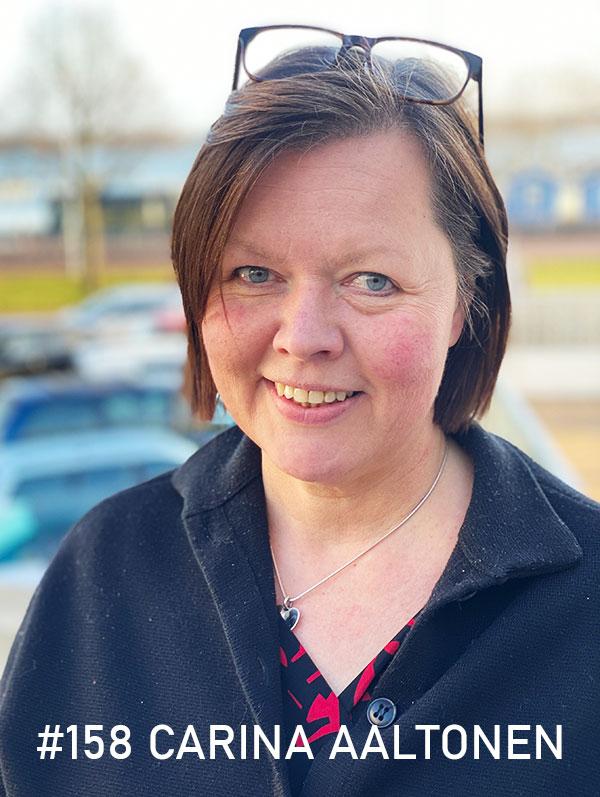 Carina Aaltonen. Foto: Christian von Essen, hejaframtiden.se