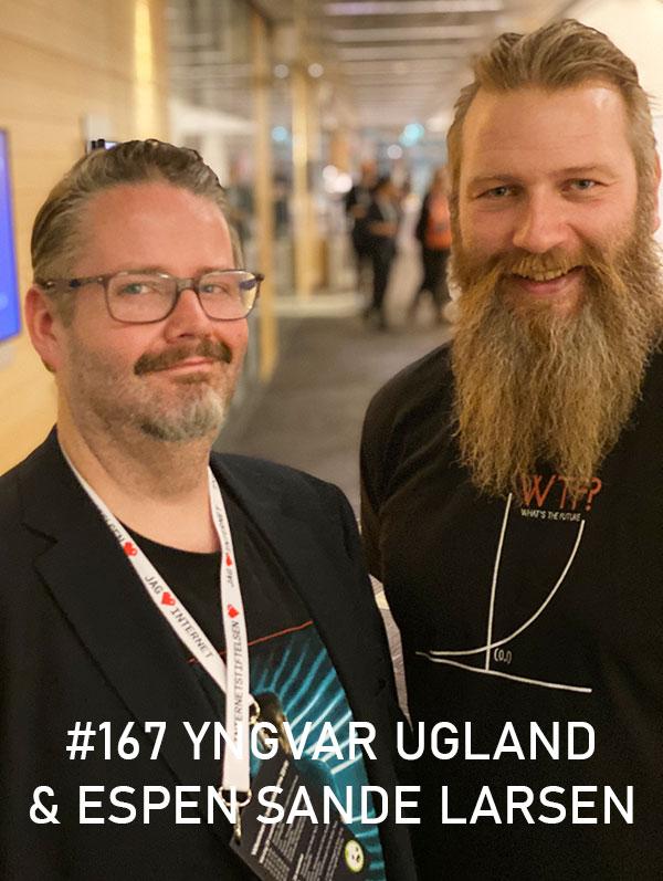 Yngvar Ugland & Espen Sande Larsen. Photo: Christian von Essen, hejaframtiden.se