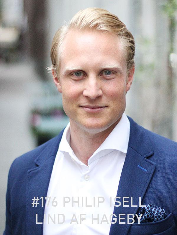 Philip Isell Lind af Hageby. Foto: Christian von Essen, hejaframtiden.se