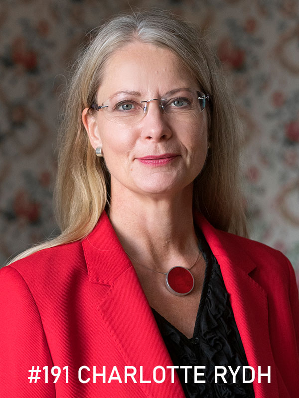 Charlotte Rydh. Foto: Christin Philipson