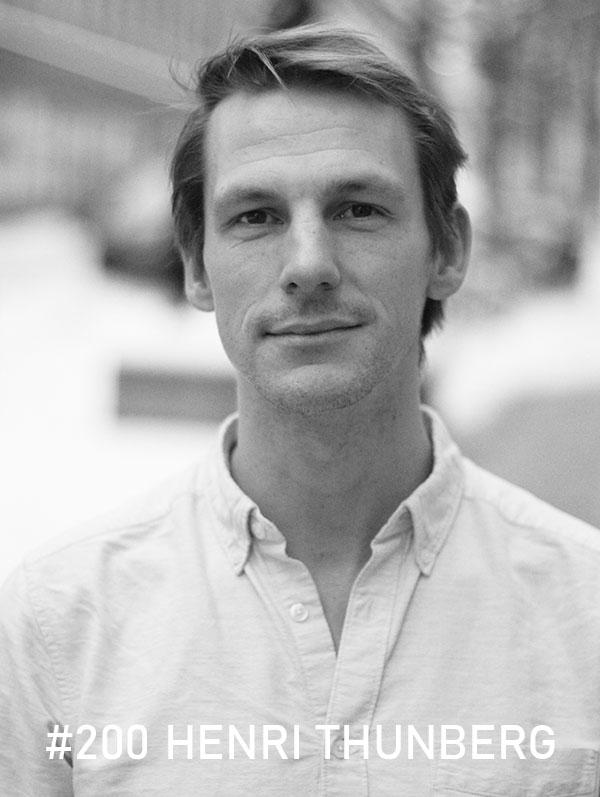 Henri Thunberg. Foto: Christian von Essen, hejaframtiden.se