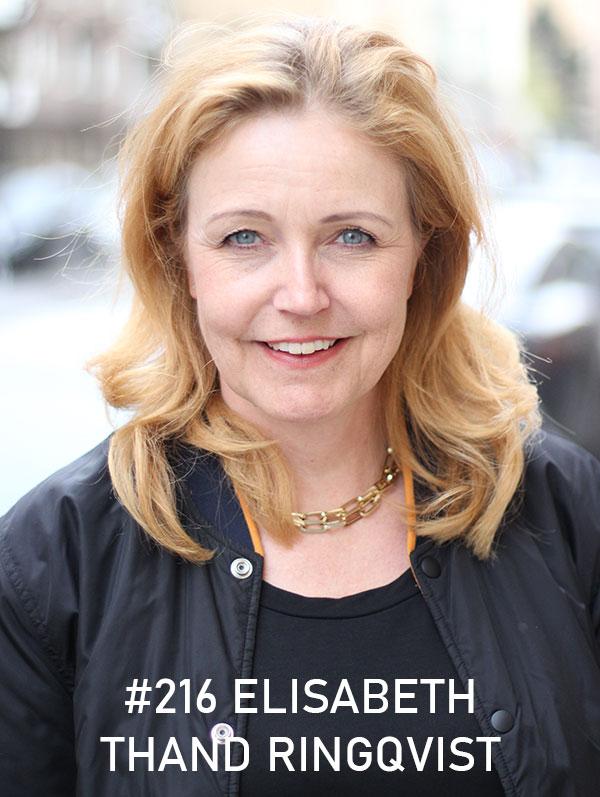 Elisabeth Thand Ringqvist. Foto: Christian von Essen, hejaframtiden.se