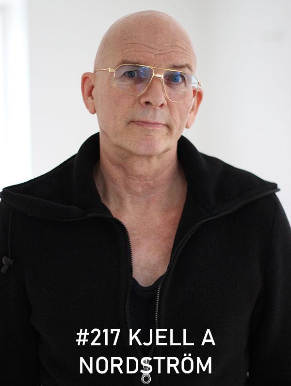 Kjell A Nordström. Foto: Christian von Essen, hejaframtiden.se